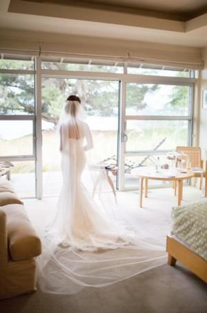 The Beautiful Bride on her wedding day, Whare Kea Lodge boutique weddings.  Photo by  Alpine Images Co. Ltd