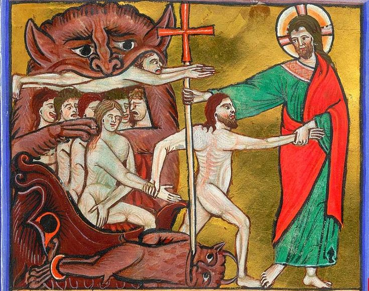 Image result for Christ harrowing of hell