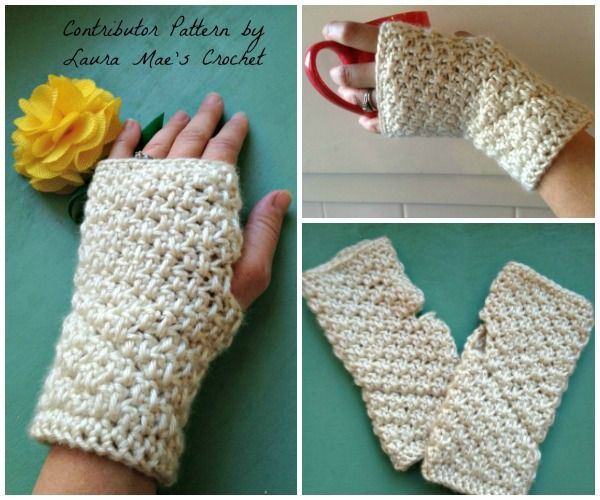 136 best crochet wristlets mittens gloves images on pinterest huntington arm warmers free crochet pattern dt1010fo