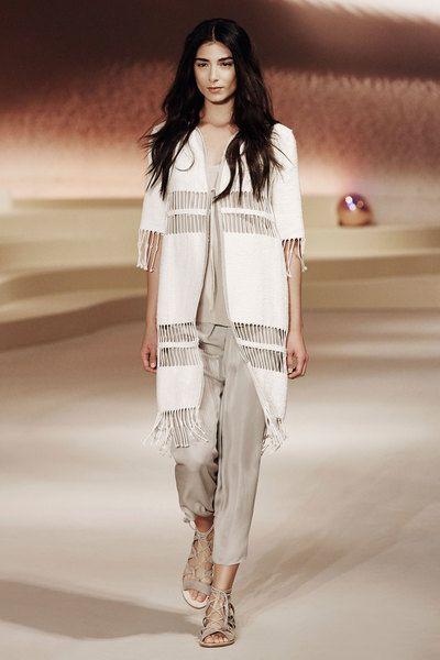 Spring 2016: Elie Tahari x Rowena Vest