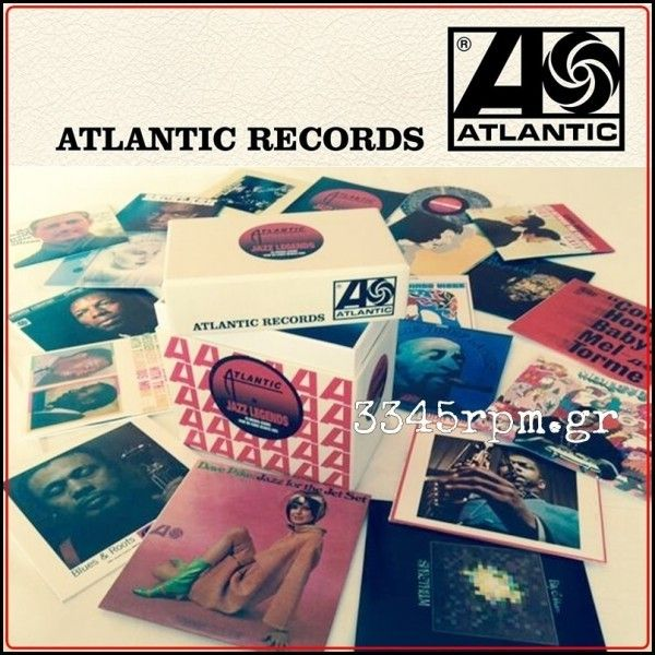 Atlantic Jazz Legends - 20 CD Box set Limited