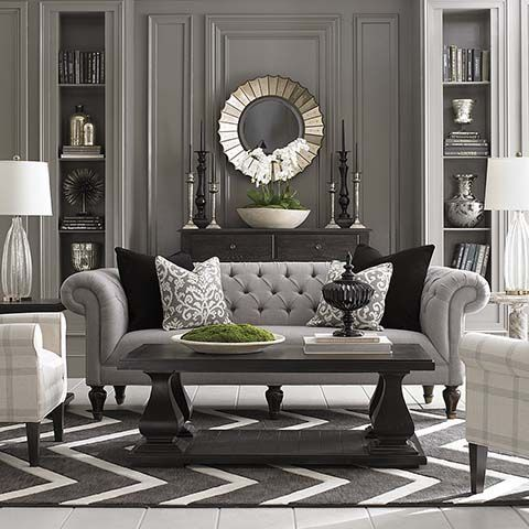 Wall Detail - Fifty Shades of Gray in Classical Interiors | Classical Addiction Beaux Artes Blog