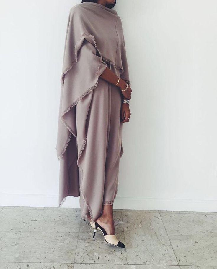 IG:AKSTheLabel || IG: BeautiifulinBlack || Abaya Fashion ||