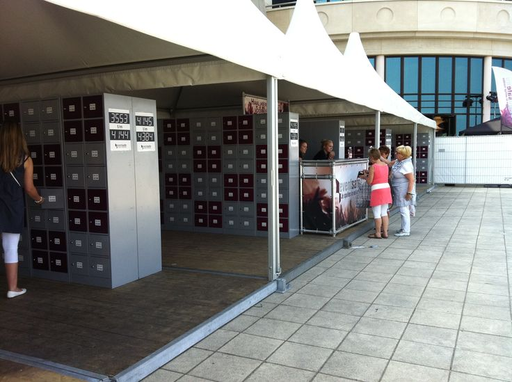 Pop on Top 2011 - Eventsafe lockers