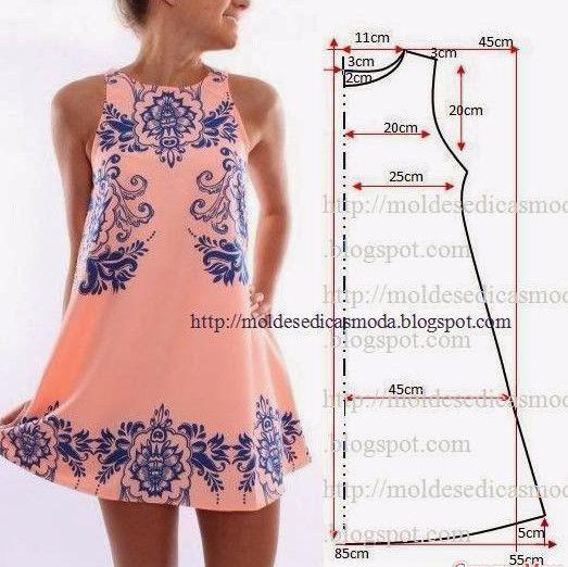 Vestidos de verano y sarafans con patrones simples ... 50 vestidos - 50 patrones!