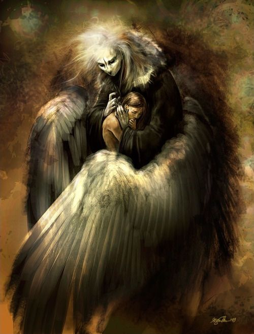 Dark Fantasy Art by Kirsi Salonen | Just love, Wings and ...
