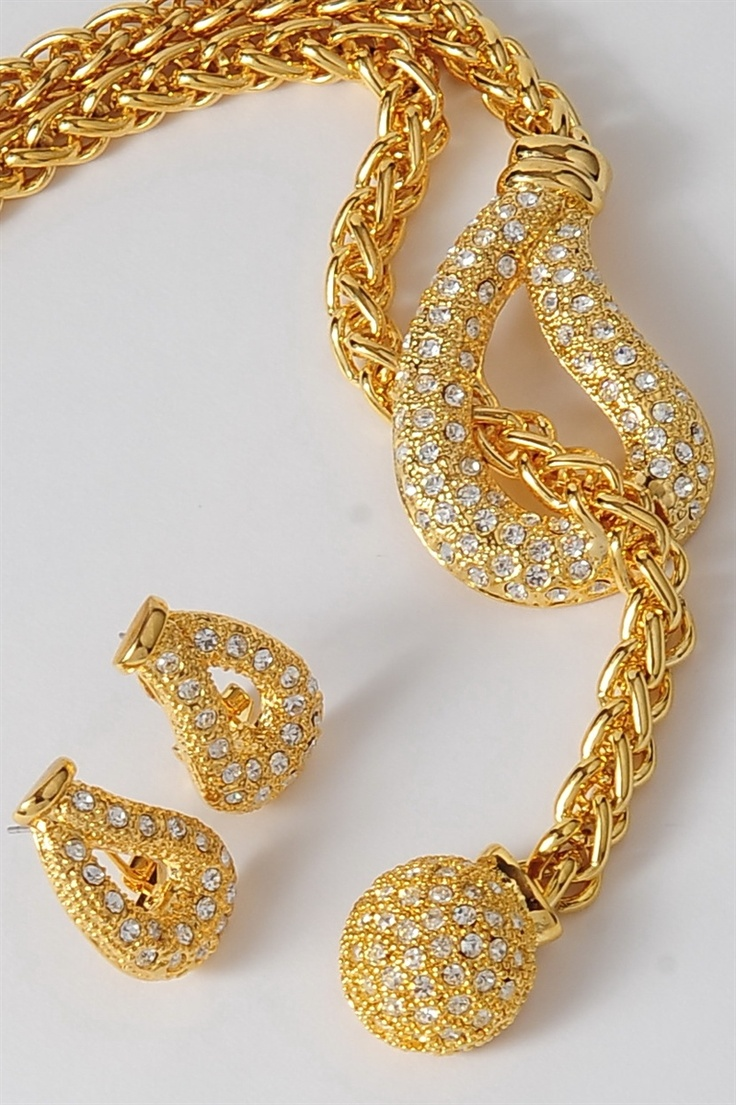 #Bling Hang Loose Gold Set - $45 Also sold separately www.tracilynnjewelry.net/11539