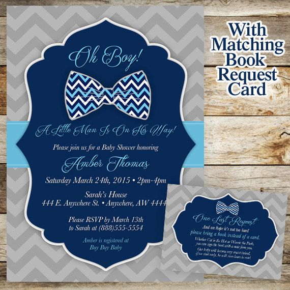 Hey, I found this really awesome Etsy listing at https://www.etsy.com/listing/226499372/bowtie-baby-shower-invitation-little-man  Instead of book request diaper raffle!