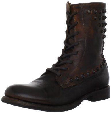 Boots Women's WEZ0006Distressed Grain/Slash Green LeatherUS 9 M
