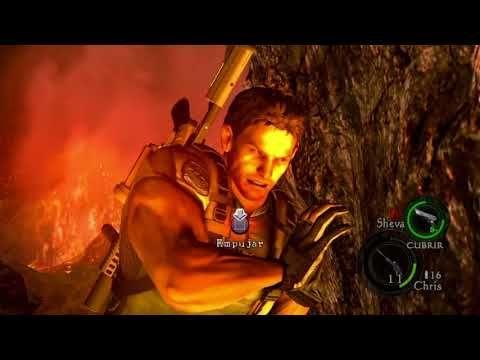 residen evil 5 gran final Wesker