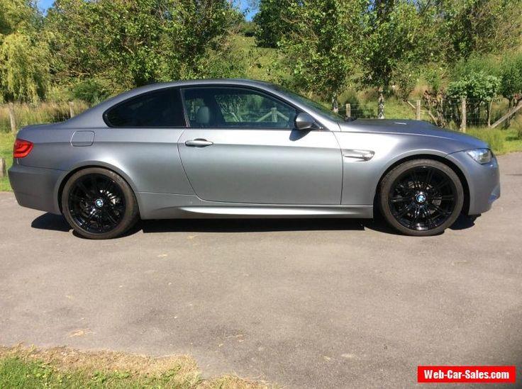 BMW M3 DCT 2010(60) 4.0 V8 (420bhp) FBMWSH FROZEN GREY EDITION 44K MILES #bmw #m3 #forsale #unitedkingdom