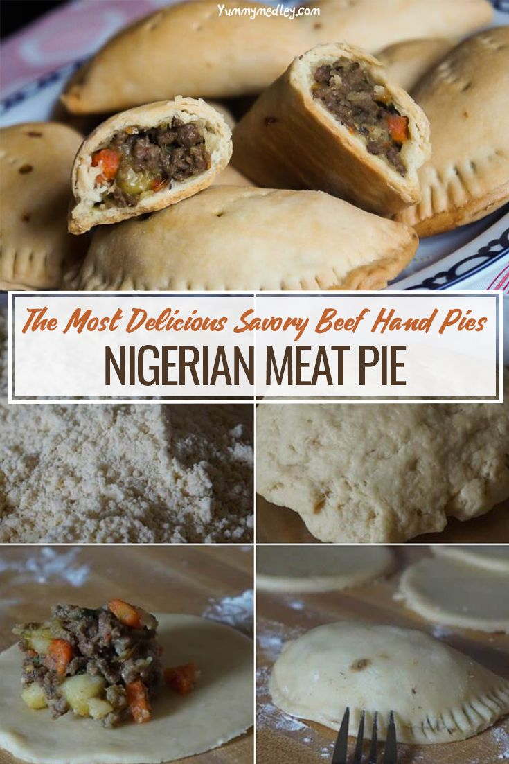 Nigerian Meat Pie Savory Beef Hand Pies Recipe Nigerian Meat Pie African Recipes Nigerian Food Meat Pie