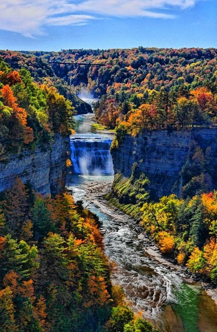 Letchworth State Park Hiking Swimming Camping White