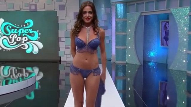 Awkward Lingerie Show On Live TV Where Cameraman Kept Zooming For Crotch Shots