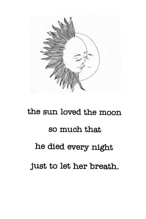 Sun and moon | Quotes | Pinterest | Sun