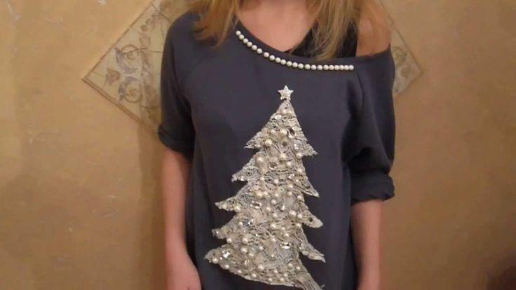 Мода на рождественские свитера. Делаем сами!