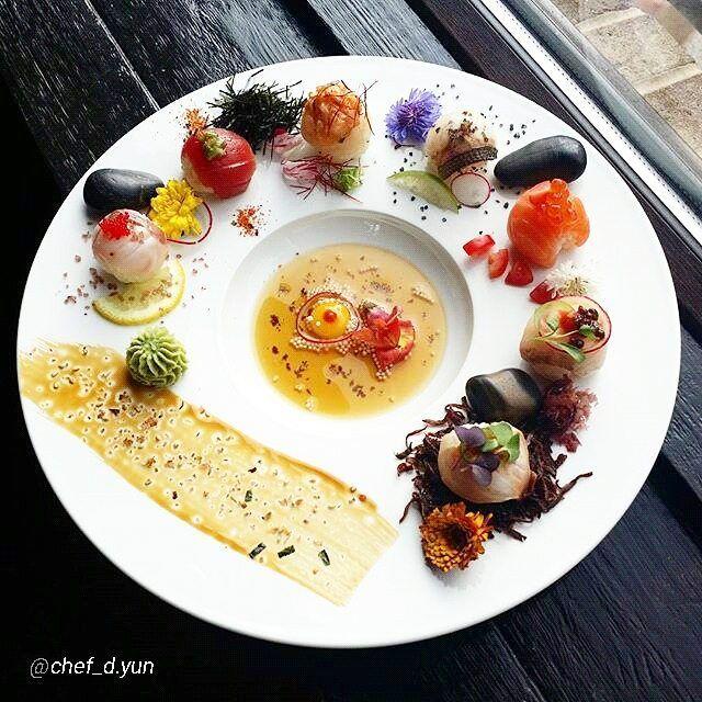 "By @chef_d.yun ""Temari Sushi..."" #foodphotography #f52grams #food #foodporn…"