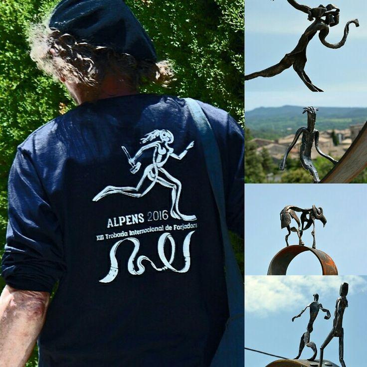 Alpens, XIII encuentro internacional de forjadores 2016 #artesanía #artesano #manoseamas #mercadodeartesanía #forja #hierroo #alpens