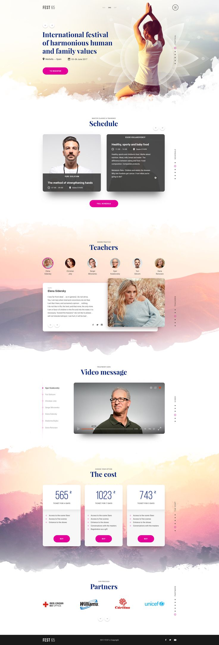 What i like about this design is it looks like a really relaxing website. But what i don't like is that i wish some of the images where a bit bigger. So i would make the pictures a bit bigger for the teachers.