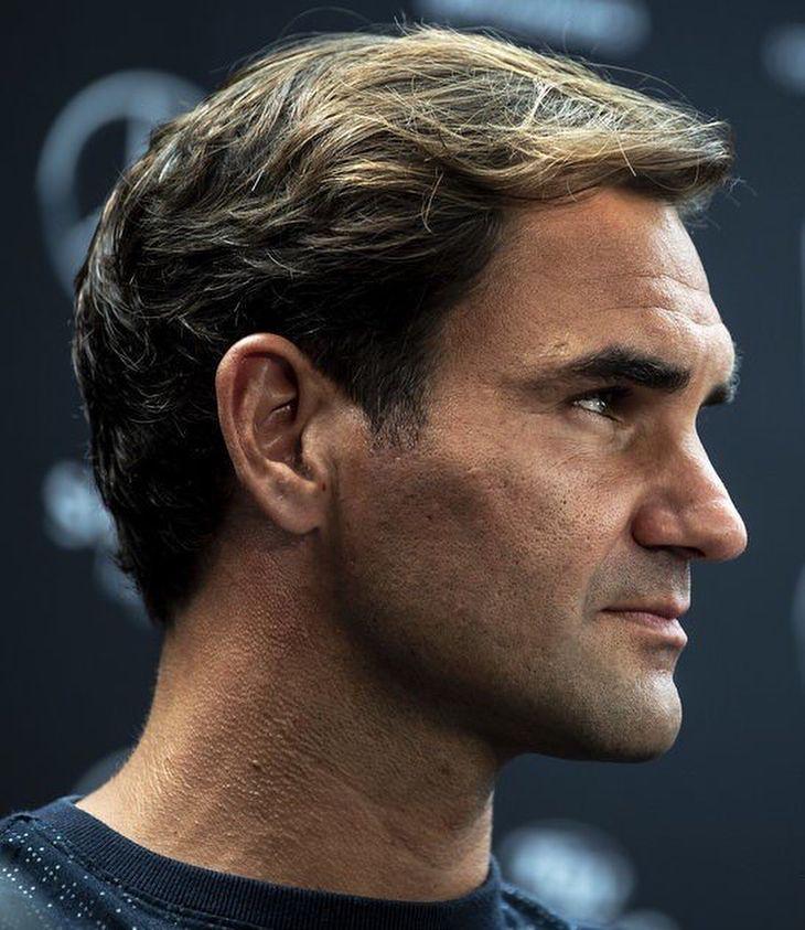 Roger Federer Roger Federer Portrait Photography Men Rogers