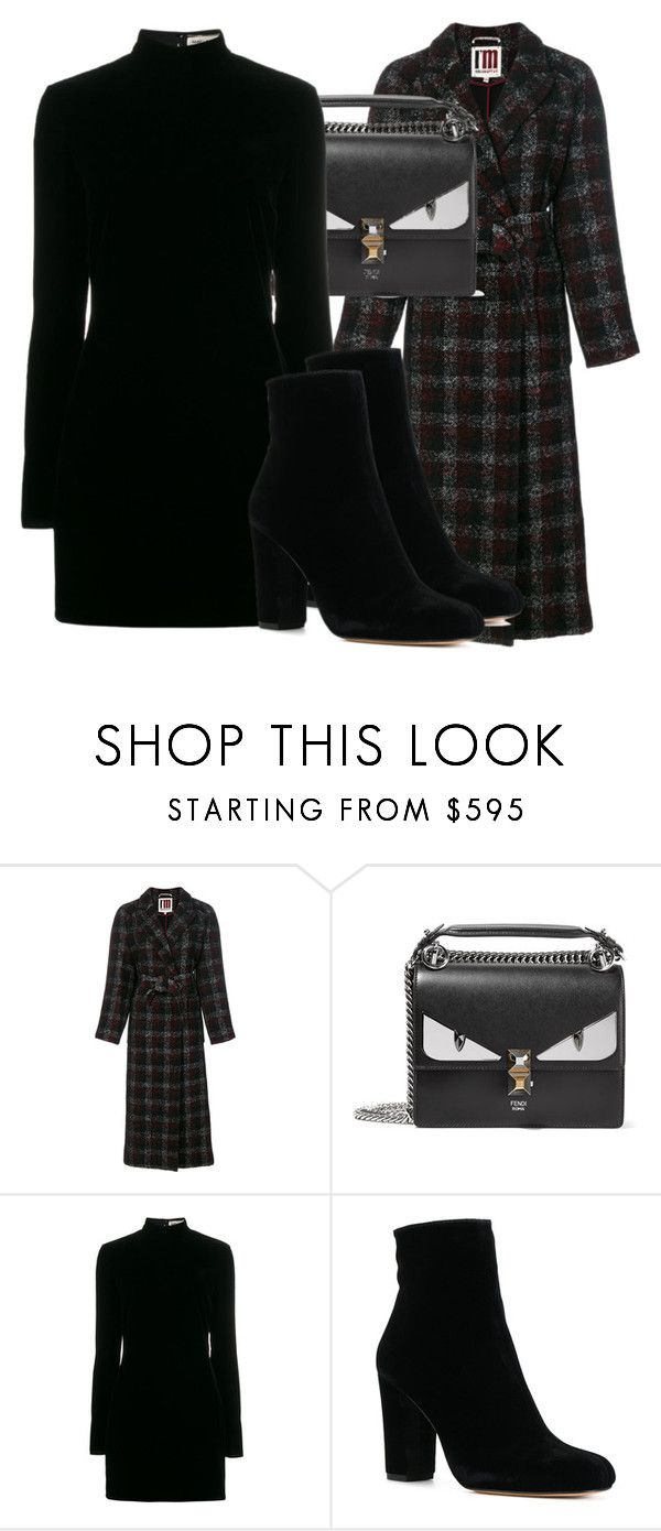 """Untitled #5264"" by beatrizvilar on Polyvore featuring I'm Isola Marras, Fendi and Yves Saint Laurent"