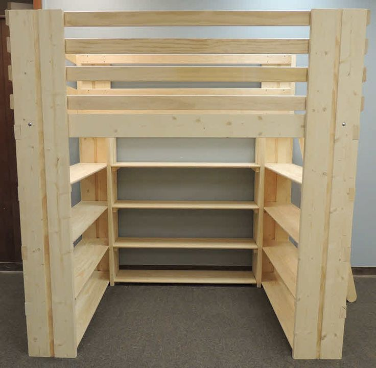best 25 college loft beds ideas on pinterest college bunk beds woodworking plan loft bed and. Black Bedroom Furniture Sets. Home Design Ideas