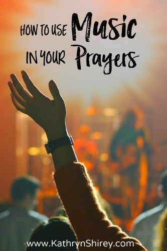 Sing to the Lord a new song! Music is a form of prayer. Just look at the beautiful songs (psalms) in the Bible! Find new ways to use music in your prayers. {+free printable prayer card}