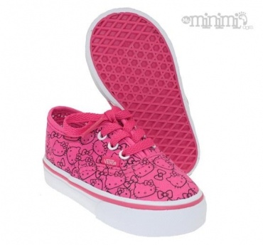 Petites Vans Hello Kitty ! Trop Kawaii !