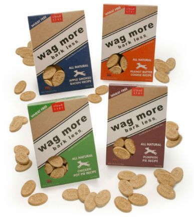 Cloud Star Wag More Bark Less Dog Treats - Top Yankee Swap Gift Ideas for 2013 by MyUntangledlife.com