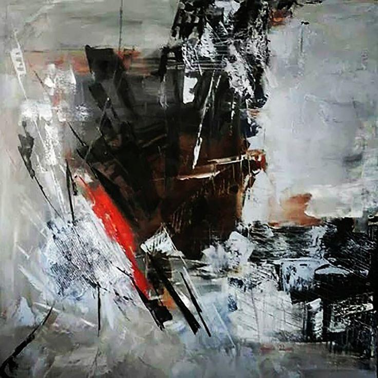 Işık Serisi - 3 (Light Series - 3) by Sevda Uçan #Tuval üzerine #Yağlıboya / #Oiloncanvas 90cm x 90cm  #gallerymak #sanat #ig_sanat #sanatsal #ressam #yagliboya #modernsanat #soyutresim #tablo #contemporaryart #abstractpainting #abstractart #abstract #artbasel #abstractexpressionism #artlover #artcollector #artgallery #masterpiece #amazingart #painting #oilpainting #art #instaart #artsy