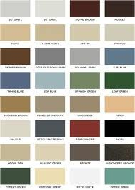 samples of exterior house colors - Google Search