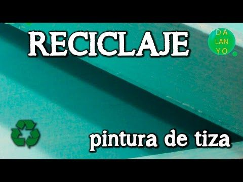 Tutorial para hacer chalk paint - YouTube
