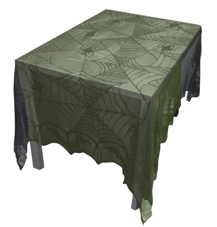 lace tablecloth decorations props halloween express