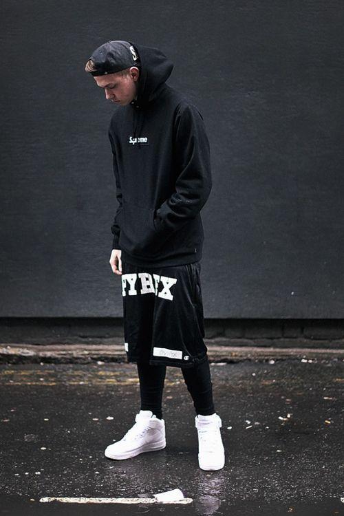 Street Goth Pyrex Shorts