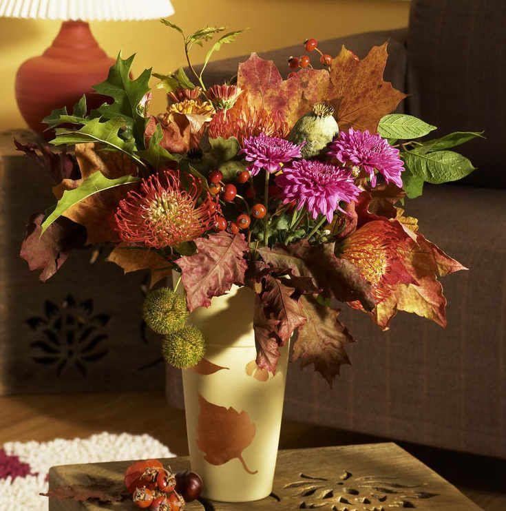 Herbst-Deko Selbermachen