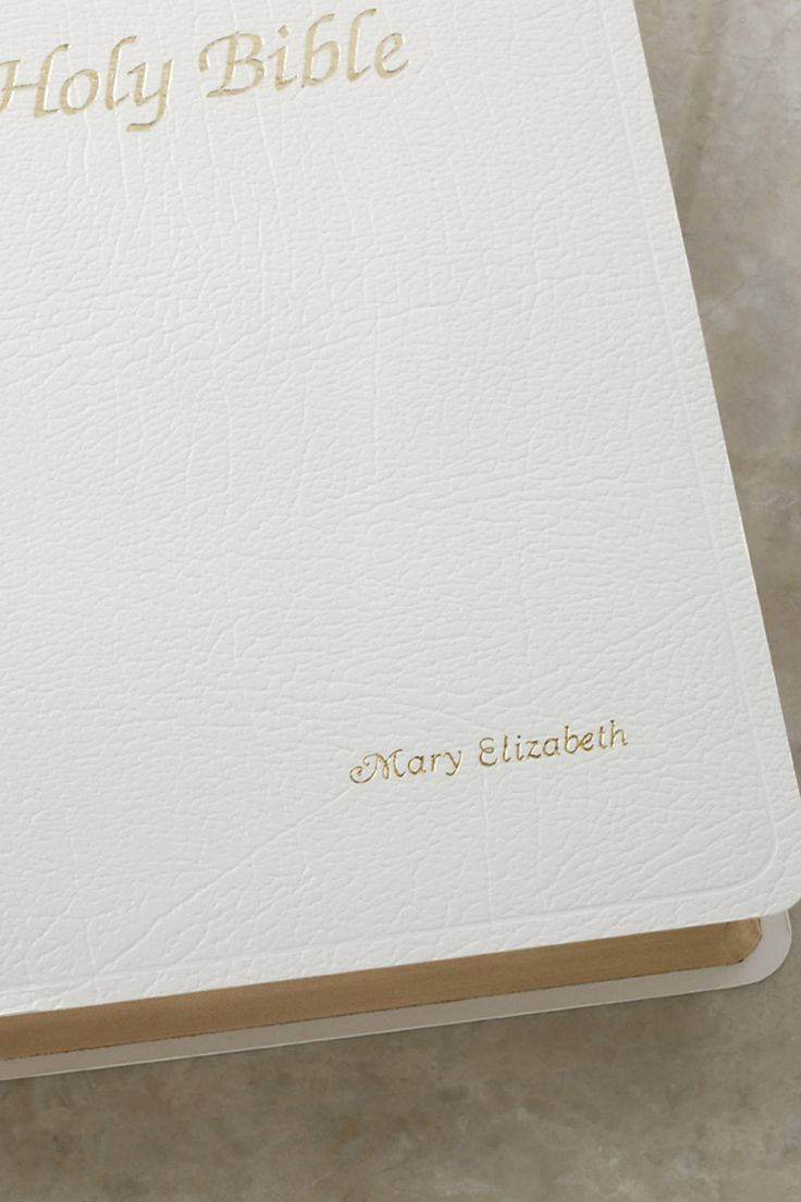 First Communion Gift Bible-White NAB