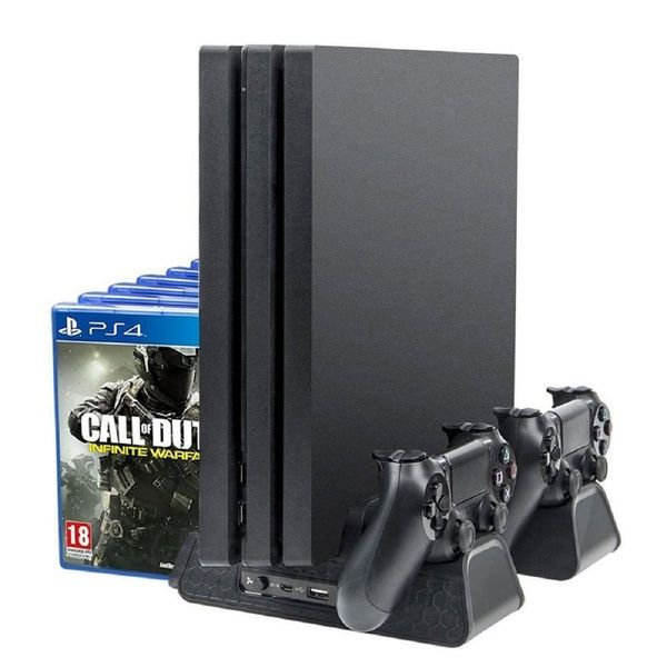 Cooling Stand For Ps4 Ps4 Slim Ps4 Pro Multifunctional Vertical