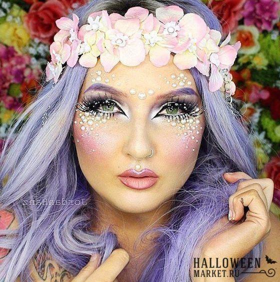 #fairy #makeup #costume #halloweenmarket #halloween  #грим #макияж #фея Образ феи на хэллоуин: прическа и макияж феи (фото)