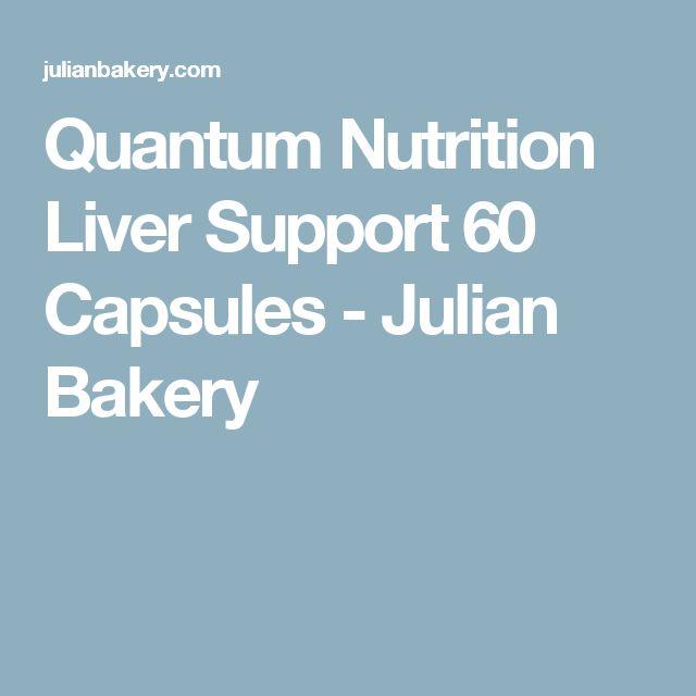 Quantum Nutrition Liver Support 60 Capsules - Julian Bakery