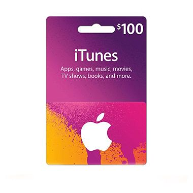 Get your $100 Itunes Gift Card Today!