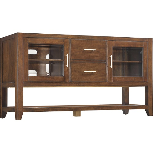 Best Buy Whalen Furniture High Console Tv Stand For Flat Panel Tvs Up To 65 Cherry Bbhc60dbc Whalen Furniture Flat Panel Tv Furniture