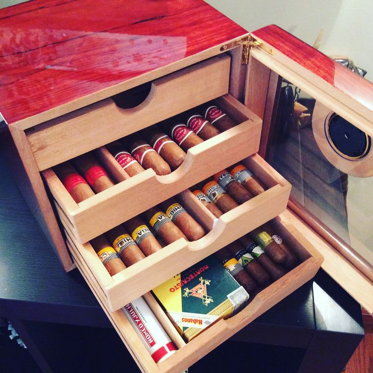Love This Unique Cigar Humidor Only Premium Cuban Cigars Get D In