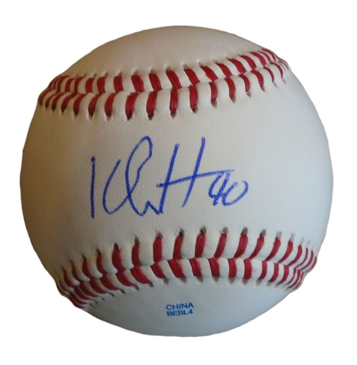 KC Royals Kelvin Herrera signed Rawlings ROLB leather baseball w/ proof photo.  Proof photo of Kelvin signing will be included with your purchase along with a COA issued from Southwestconnection-Memorabilia, guaranteeing the item to pass authentication services from PSA/DNA or JSA. Free USPS shipping. www.AutographedwithProof.com is your one stop for autographed collectibles from Kansas City sports teams. Check back with us often, as we are always obtaining new items.