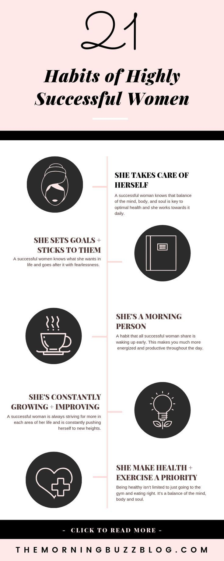 21 Habits Of Highly Successful Women Successful wo…