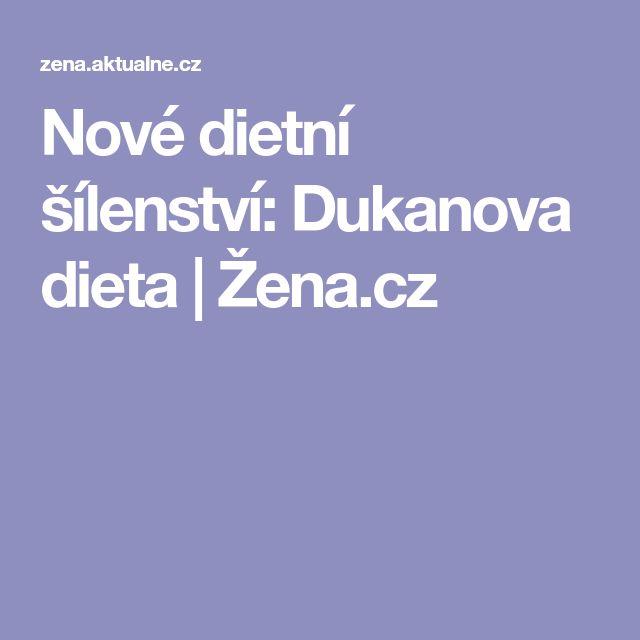Nové dietní šílenství: Dukanova dieta | Žena.cz