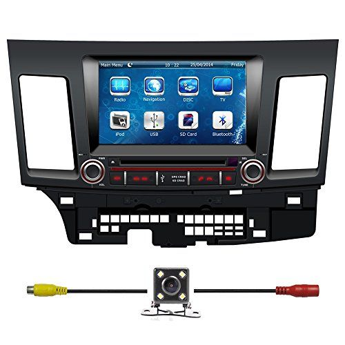 Special Offers - Bluelotus Mitsubishi Lancer 2008 2009 2010 2011 2012 2013 Double Din In-dash 8 Inch Touch Screen TFT LCD Monitor Car GPS Navigation System Car Stereo DVD Player with Bluetooth TV RadioSteering Wheel ControlRDS Sd/usb Ipod Av BT AUX IN Free Backup Camara Free Gps Map of US - In stock & Free Shipping. You can save more money! Check It (June 27 2016 at 06:05PM)…