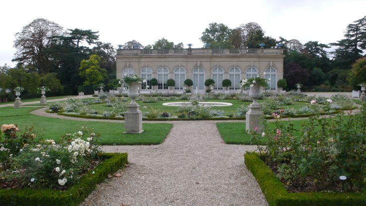 Paris les jardins de bagatelle roseraie meilleures for Bagatelle jardin paris