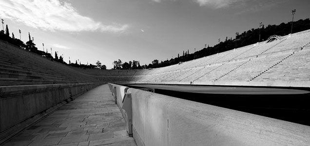 Kallimarmaron Stadion Athens Greece #hellas #stadium http://www.panathenaicstadium.gr/