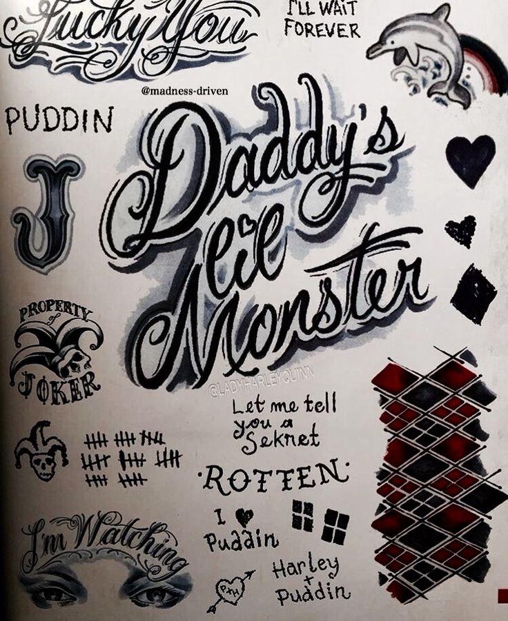 Tatuajes de Harley o.o<3.