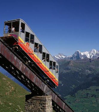 #Niesen_Train at #Niesen_Mountain in #Bern - #Switzerland http://directrooms.com/switzerland/hotels/bern-hotels/price1.htm